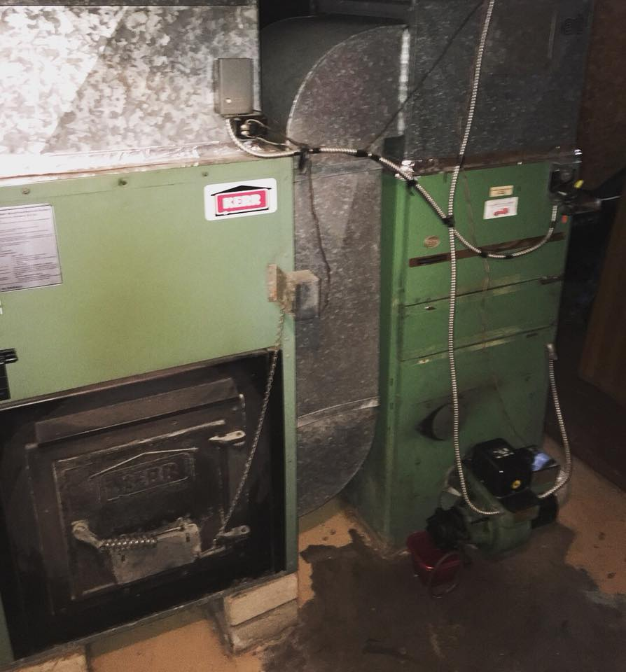 Oil Warm Air Furnace Installation Barracuda Heating