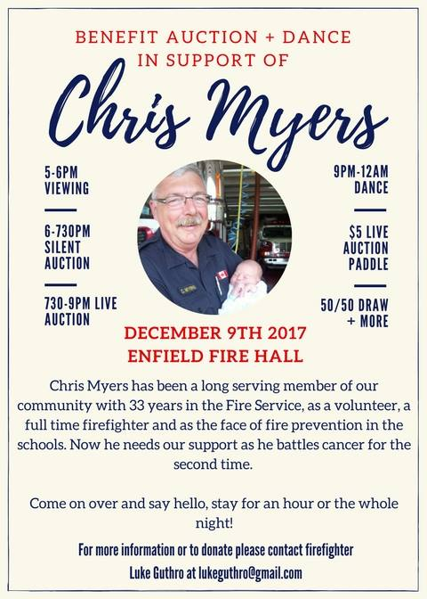 Chris Myers Benefit