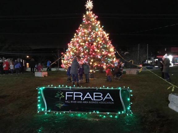 Christmas Tree Lighting Fall River FRABA